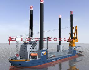 Offshore installation vessel Van Oord VR / AR ready 2