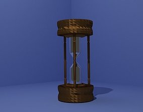 3D model clock sand
