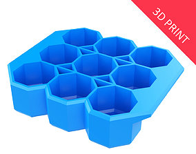 3D print model Crate Unity 05 for 9 Cans 350ml