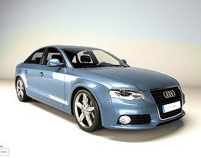 Audi A4 3D vehicle