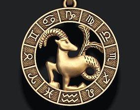 3D print model zodiac Capricorn lite