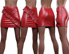 3D Vinyl Stroke Skirt
