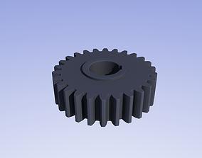 Involute gear 3D print model