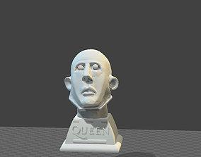 Frank the robot QUEEN tribute headbust 3D print model