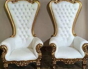 Absolom Roche Arm Chair 3D - Throne arm chair