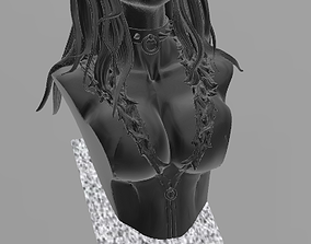 3D print model Black Cat Bust