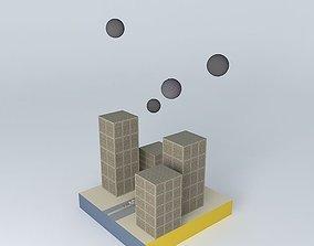 3D 6th Physics Meteor Attack Destruction