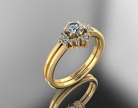 gem 3D Print Ring Model - 29