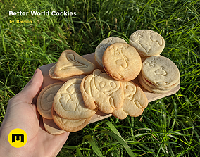 Ecological Cookie Cutters Better World 3D printable model
