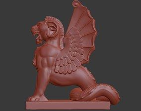 Lion Griffin 3D print model