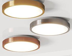 Terzo Light Bright Ceiling Lamp 3D