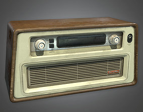 3D model Old Radio Antiques - PBR Game Ready