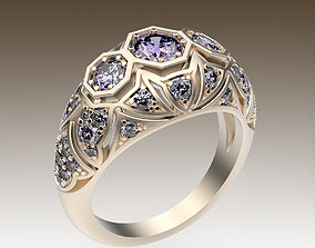 Ring Antique Style 3D print model