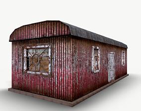 Staff room - Change house 3D asset