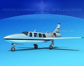 3D model Piper Aerostar FJ-100 Fanjet V09
