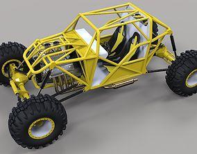 Rock crawling buggy 3D model