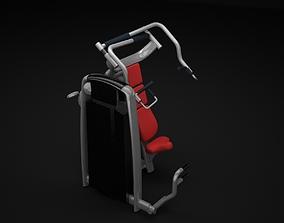 Chest Incline Machine 3D model