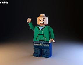 3D asset Lego Character