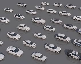 32 Vehicle Pack V1 3D asset