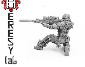 3D printable model Heresylab - Assassin Black Phoenix