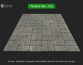 Paving Stone - seamless textures set 3D asset