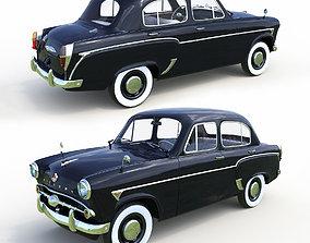 Car Mskivich 3D asset