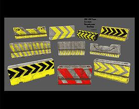 barrier set 3 3D model
