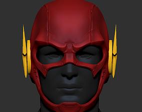 3D printable model The Flash Helmet Cosplay - Superhero 1