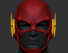 3D printable model The Flash Helmet Cosplay - Superhero 1