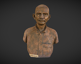 3D model Young Gandhi
