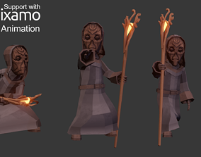 Priest Character 3D model