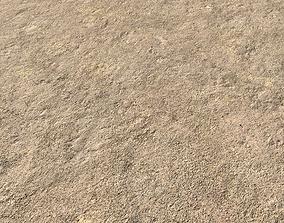 Arid desert terrain seamless 5 PBR 3D model