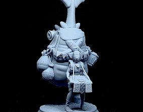 Beedle Piece set to 180mm 3D print model