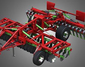 3D model AGRO MASZ Tillage Machine