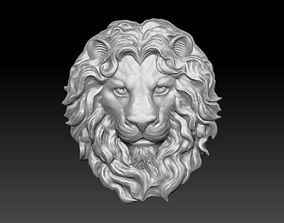 lion head mold 3D print model