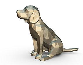3D printable model beagle figure