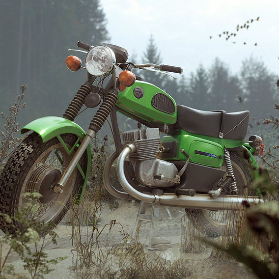 motorcycle VOSKHOD(sunrise) 3М USSR