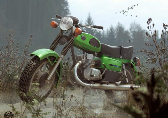motorcycle VOSKHOD(sunrise) 3М USSR