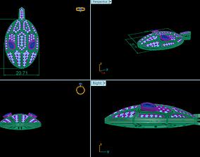 Snake pendent BVLGARI 3D print model