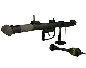 realtime PIAT Anti-Tank 3D Model