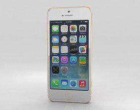 Apple iPhone 5S Gold 3D fbx