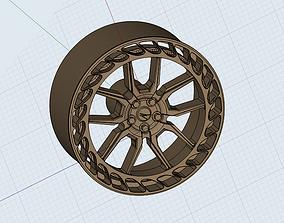 Zed performance wheel for diecast cars models