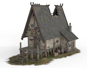 Viking House 02 3D asset