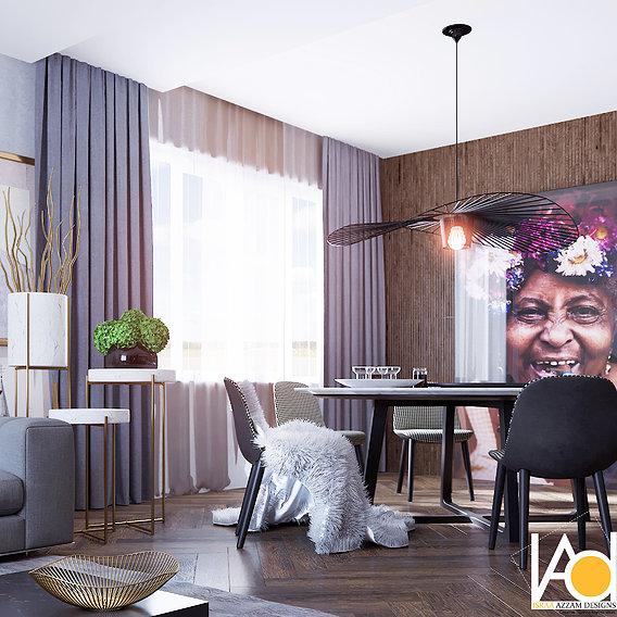 Berry Effect | Modern Apartment Interiors