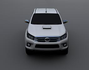 Toyota Hilux 2016 3D asset