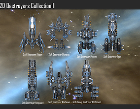 2D Destroyers Collection I 3D