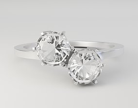 3D Duo Hex Ring