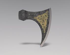 Celtic axe 3D model