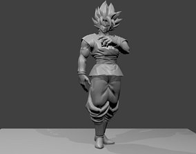Goku Black Super Saiyan Rose 3D print model