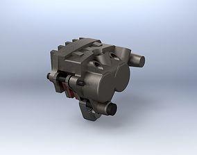 parts Endurance Brake Calliper 3D model